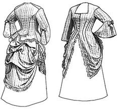 Truly Victorian 1873 Polonaise Ladies Sewing by HeritageFashionsVA