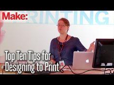 Top Ten Tips: Designing Models For 3D Printing #3d #print #design