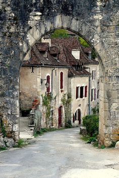 St Cirq Lapopie by pauline_iow, medieval village in SW France Places Around The World, Travel Around The World, Around The Worlds, Places To Travel, Places To See, Beau Site, Beaux Villages, France Travel, Wonders Of The World