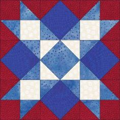 Dream Castle Quilts FREE Block Of The Month 2010 part two, Freedom Stars