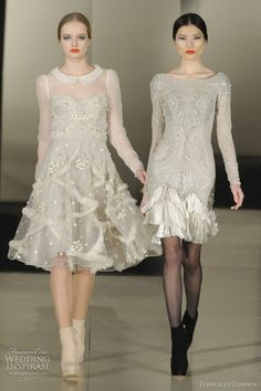temperley london fall 2011 dresses