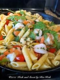 Rich and Sweet by Bia Rich: Seafood Penne
