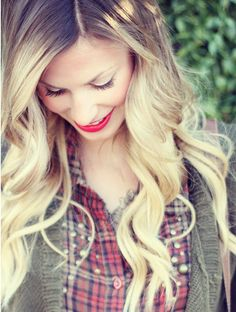 like the hair, and red lips