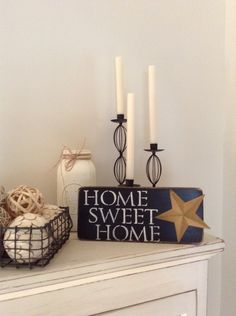 HOME SWEET HOME Distressed Wood Sign by BurlapAve on Etsy Distressed Wood Recycled Wood Reclaimed Wood
