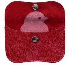 Mini #easter purse ./ Mini portemonnee rood - Webtopper.net