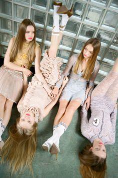 Michal Pudelka ~ Editorials ~ Girl Gang editorial