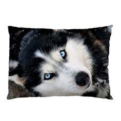 Siberian Husky Dog Pillow Case (2 Sides) by Quinn Cafe, http://www.amazon.com/dp/B00CFDQFNQ/ref=cm_sw_r_pi_dp_5V8Gsb1FGQ6EQ/192-5663819-2381014