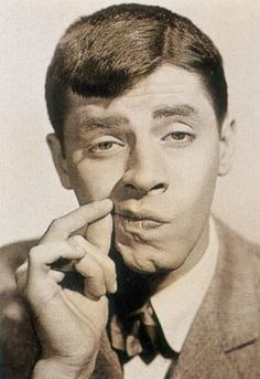 Jerry Lewis was the Jim Carrey of the 50's and 60's.