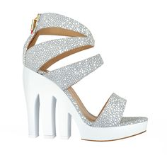 Milford Haven is an avant garde and fierce style ideal for Spring and Summer cutting edge events and celebrations.  Her comfortable trendy Trio cut-out wedge heels have an elegant finish that will appeal to glamourous rock chicks.  A fabulous addition to your wardrobe this season.  Are you ready to rock!