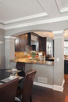23 Idee Su Muro Tra Cucina E Sala Da Pranzo Nel 2021 Arredo Interni Cucina Arredamento Arredamento Casa