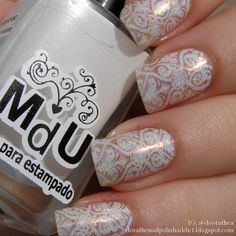 Dóra, the nail polish addict: Moyra nyomdalemez – 11 Damask Drapery