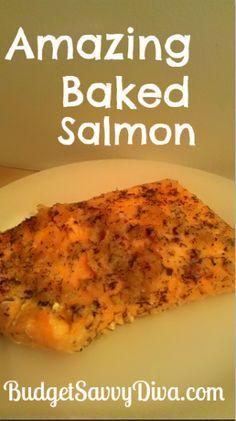 Amazing Baked Salmon Recipe