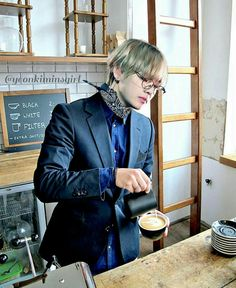 If he ran a cafe I would be there 24/7