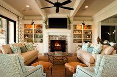 Home decor in Family Room - Jasckson Built Homes in Daniel Island - Lesesne Street