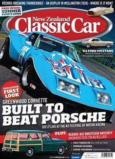 NZ Classic Car Magazine - December 2012 - Greenwood Corvette