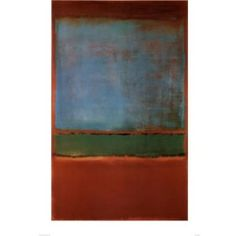 Mark Rothko-Violet blue and Green