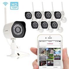 Zmodo Smart Wireless Security Camera – 8 Pack HD Indoor/Outdoor WiFi IP Cameras with Night Vision Easy Remote Access  http://www.lookatcamera.com/zmodo-smart-wireless-security-camera-8-pack-hd-indooroutdoor-wifi-ip-cameras-with-night-vision-easy-remote-access/