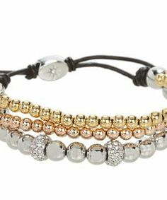 Fossil Iconic Metal Beaded Bracelet #accessories  #jewelry  #bracelets  https://www.heeyy.com/suggests/fossil-iconic-metal-beaded-bracelet-tritone-glitz-dark-chocolate/