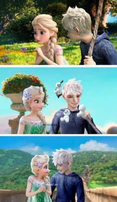 These are literally the BEST Jelsa edits I have ever seen! Very clean and neat, lighting perfected, not a flaw, it looks so real. Whenever I have a bad day, I just look at these. Credit definitely goes to the creator!!!