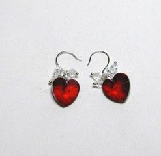 Ruby Hearts - Jewelry creation by Linda Foust