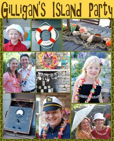 bnute productions: Gilligan's Island Party: Decoration, Food and Drink Ideas