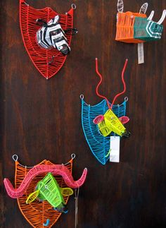 South African wire art - OMG I truly loved this! Going to try to make one. ❤️