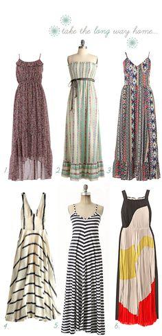 LOVE Maxi Dresses!!!! <3 :-) :-)