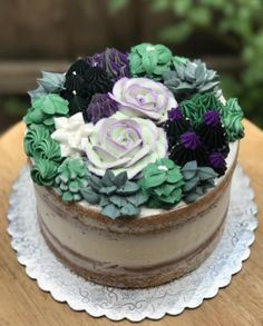 16 Cakes That Will Deeply Satisfy Anyone Obsessed With Succulents And this one, too. 16 Cakes That Will Deeply Satisfy Anyone Obsessed With Succulents Beautiful Cakes, Amazing Cakes, Indian Cake, Cactus Cake, Cactus Cupcakes, Monster High Cakes, Sweet 16 Cakes, Girl Cakes, Savoury Cake