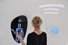 On the occasion of the 150th anniversary of the world's largest food company Tinker has designed the family experience nest. Body scanner demonstrates how different foods works in our body.