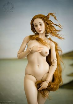 Artist Transforms Botticelli's Venus Into A Japanese Doll Is The Result Was Magnificent