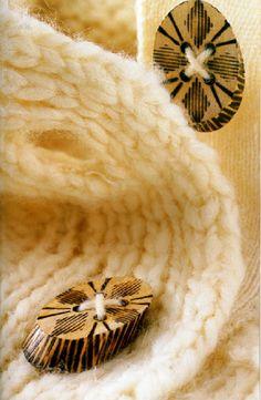 Пуговицы своими руками. деревянная пуговица