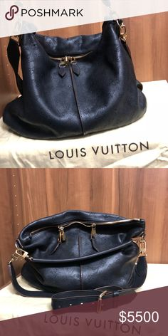 7a3656361c Louis Vuitton bag limited edition Black hobo style with shoulder and tote  strap. Also make up cc bag included. More pics to come Louis Vuitton Bags