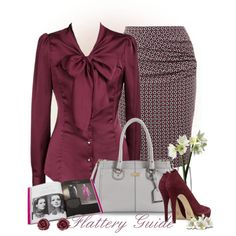A fashion look from September 2013 featuring Weekend Max Mara skirts, MICHAEL Michael Kors pumps and Cole Haan handbags. Browse and shop related looks.
