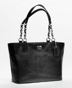 COACH MADISON LEATHER TOTE - Coach Handbags - Handbags & Accessories - Macy's