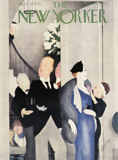 The New Yorker - Saturday, April 20, 1935 - Issue # 531 - Vol. 11 - N° 10 - Cover by : William Cotton