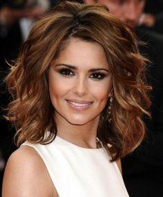 medium haircut with loose curls