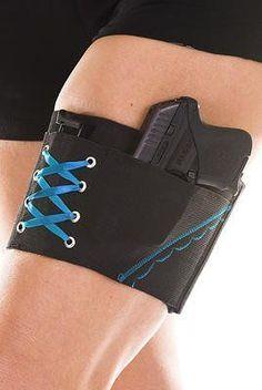 Concealment Holsters for Women | Best Cheap Women's Gun Holster Garter - Concealed Weapon Thigh Carry .