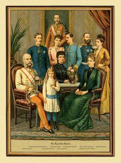 Franz Joseph's family.
