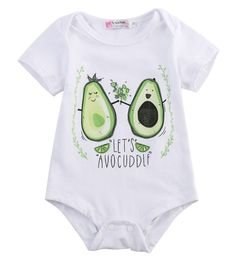 Lets Avocuddle Baby Bodysuit