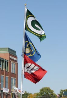 My hometown is Green Bay Packers, Milwaukee Brewers & Wisconsin Badgers!