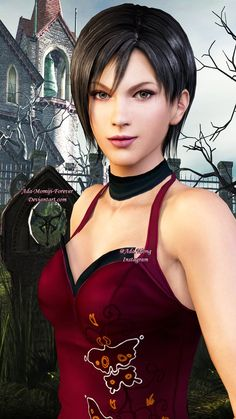 Happy Valentine's Day! <3 Ada Gloveless and Barefoot model by Strawberry-Pink05 Leon model by Adngel Roses by Deexie Fanart only Ada Wong and Leon S. Kennedy are property of Ca...