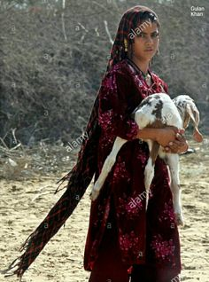 Cute baby with goat near Indian border Nangarparker Thar Sindh Pakistan Pakistan Country, Civilization, Goat, Cute Babies, Faces, Indian, Sexy, Girls, Beautiful