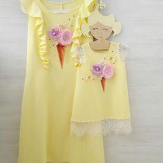 100 отметок «Нравится», 10 комментариев — ПЛАТЬЯ FAMILYLOOK (@platya_s_kartinki) в Instagram: «Платье для мамы с  секретом! Под красивыми воланами спрятаны вертикальные потайные молнии.…»