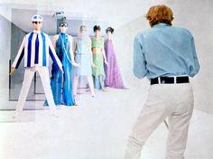 "Movie ""Blow Up"" fashionable swinging London. Jane Birkin and famous model Verushka. Hollywood Vanity, In Hollywood, Blow Up Movie, Dedicated Follower Of Fashion, Swinging London, Carnaby Street, London Photographer, Next Fashion, Jane Birkin"