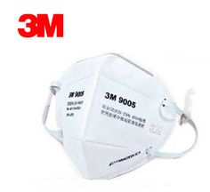 3M 9005 Safety Mask Anti-particles Respirator Dust Mask Anti-pm2.5 masks KN90 Standard Working Protection LT069 #Affiliate