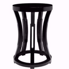 Hourglass Stool, $371, Global Home