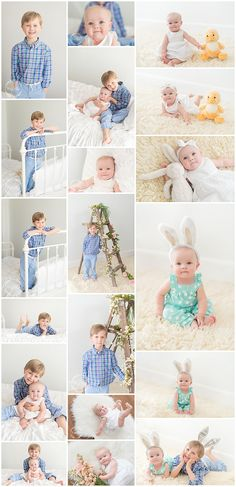 Spring Mini Session #siblings #springmini #naturallight #portrait #easter #simple #bunny