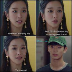 Its Okay Quotes, Sad Quotes, Movie Quotes, Best Quotes, Korean Drama Quotes, Drama Fever, Kdrama Memes, Drama Korea, Just Run