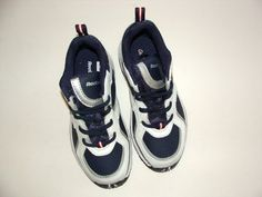 Beautiful pair of boy tennis shoes    BRAND NEW!    From: Reebok    Size: 12.5      Color: Blue/White