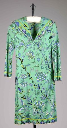 Dress Emilio Pucci, 1970 The Metropolitan Museum of Art